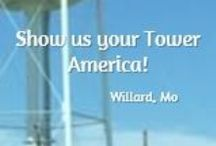 Show Us Your Tower! / America is made up of great people and every one of us has one near, the symbol of heartland America that represents family, friendship and community - your hometown tower.   Our Travel Team is a family operated and owned small business that is a by-product of what that hometown tower represents. Help us represent heartland America!