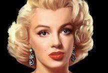 MARILYN MONROE / Marilyn Monroe (born Norma Jeane Mortenson, June 1, 1926 – August 5, 1962) was an American actress, model and singer.