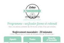 Santé - Butt exercices / Exercices pour des belles fesses!!