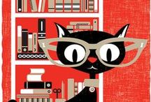 VINTAGE CATS ALL SORTS