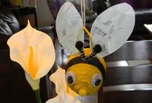 En classe : abeilles