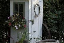 Garden ideas / by Kathy Mc