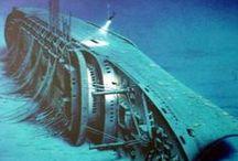Ship Wrecks.