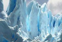 Glaciers..