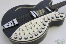 Guitars.....Awesome and Strange.