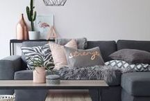 Home decoration / Just things that my inner interior designer likes & finds inspiring