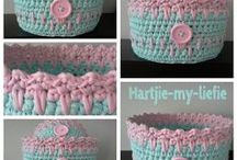 Bags..Baskets..Crochet..hand made..and Purses...