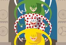 Tour de France Art and Posters / Art and posters celebrating the world's biggest cycling race: the Tour de France.