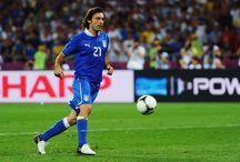 Andrea Pirlo / Il professore, the maestro, legend, best playmaker of all time in Football.