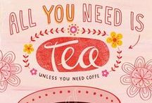 Some coffee or tea, please / There is nothing better than a cup of good coffee or tea.