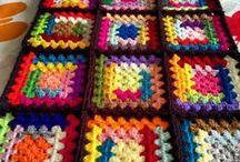 BLANKETS...Crochet...Knitted.