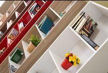 Kitaplıklar / Adore Mobilya Kitaplık Modelleri