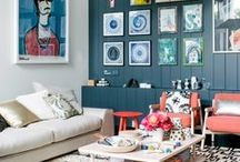 Living room ideas / Decor ideas for living room and other places to hang out and relax.
