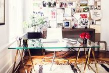Office decor / Decor ideas for office or work place.