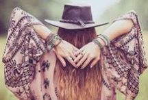 Bohemian chic  / Stuff I love...and wear...and make