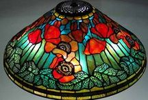 Tiffanylit N Glass + DIY / ...Tiffany n Stained Glass that captures the light