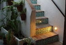 Stair Steps / ... The Winding Path through a Home