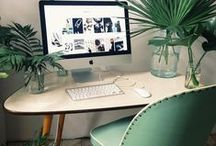 Boheme Officestyle / ✧☽ Bohemian loving Working Tables for Creative Thinking ~ Start to imagine ☾✧