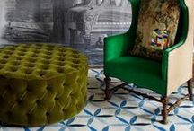 Ottoman Empire / ✧☽ #Bohemefit ottomans, the versatile for table and seating or simply putting up the feet ☾✧