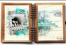 Art-journals / Арт журналы / Beautiful and inspiring art-journals/ Прекрасные, вдохновляющие арт-журналы!