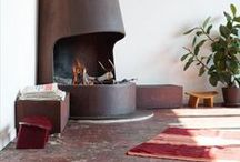 Fireplace + DIY / ...A place to warm the toes and watch the flames dance