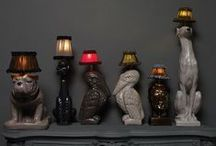 Lamp and Shade / ...Letting light watch over you as the pages of a book drifts it pages