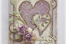 cards shabby chic