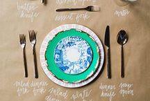Table Etiquette + DIY