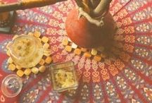 ✧☽ table covers ☾✧ / ✧☽ #Bohemefit Table runners and sets both #diy and #décore - for layered charm to any table ☾✧