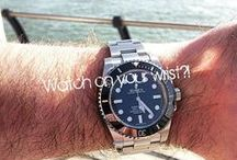 """Watch on your wrist /  """"A man without a watch is like a woman without her handbag.""""Get inspired by the most beautiful (time)pieces!"""