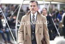 Men Style; Suit Up / It's time to for your daily dose of business style and class inspiration! Follow us and it might be your first move having success with the ladies!