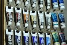 Craft and Supply / ✧☽ craft supplies and storage ☾✧ #Bohemefit