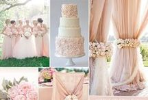 Colors We Adore / For Your Perfectly Color-Coordinated Wedding