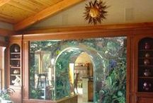 Aquarium / ✧☽ Aqautic inspirations and Aquariums to bring the element of water home ☾✧