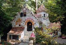 Häuser, Schöne, Interessant und Lustig