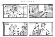 My storyboards / A small selection of my storyboards