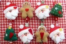 Decori natalizi / Decori per tavola  e per albero