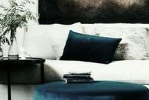 Sydney Apartment / Texture, over lapping, contrasting, natural and organic with a white/cream base