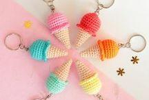 Crochet Key chains