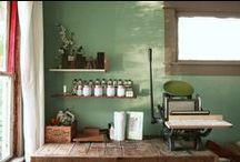 Letterpress Shop / by Cedar Lane Letterpress