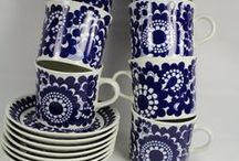 houseware — dishware / I love cups, saucers, plates and jugs