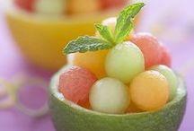 Fruta divertida / Diferentes maneras de presentar la #fruta para grandes y pequeños.