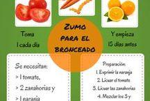 Batidos y zumos para hacer en casa / #batidos #zumos #jugosverdes #smoothies