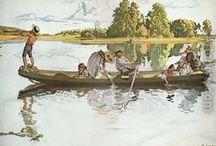 Carl Larsson / Swedish illustrator