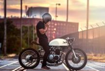 Motorcycles / Dreams of two wheel times. / by Greg Nakonecznyj