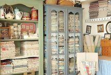 Crafts/Sewing Organization / by Sue Leigh