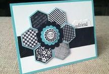 Cards made with punches / Stampin up cards