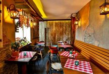 Little italy restaurant / Shabby chic, industrial design, restaurant, italian restaurant, diy, designed by Iuliu Barar