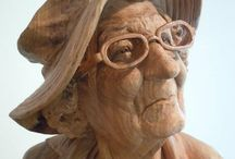 Sculpture, Wood Carving / by Sue Leigh