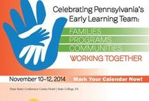 Early Childhood Education Summit / Since 2008, the Pennsylvania Child Care Association, the Pennsylvania Head Start Association and the Office of Child Development and Early Learning, Pennsylvania Departments of Education and Public Welfare have cosponsored the Pennsylvania Early Childhood Education Summit.